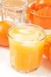 Fresh squeezed orange juice Royalty Free Stock Image
