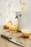 Fresh Squeezed Orange Juice Stock Photography