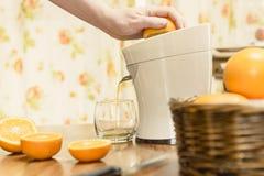 Fresh Squeezed Orange Juice Stock Photos