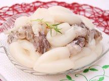 Fresh squids Stock Photos