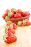 Fresh srawberries Royalty Free Stock Photo
