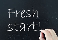 Fresh start Royalty Free Stock Photos