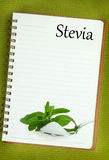 Stevia Rebaudiana Royalty Free Stock Photo