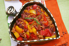 Fresh stew Stock Images