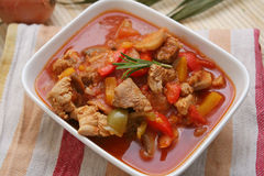 Fresh stew Royalty Free Stock Photography