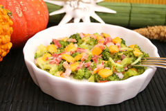 Fresh stew of broccoli Royalty Free Stock Photography