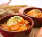 A fresh stew of carrots Royalty Free Stock Photo