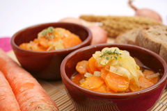 A fresh stew of carrots Royalty Free Stock Photos