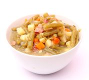 Fresh Stew of green beans Royalty Free Stock Photography