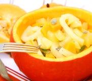 A fresh stew of a pumpkin Stock Photos