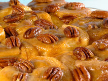 Fresh Sticky Buns Stock Images