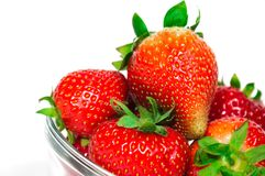 Fresh strawberries. Royalty Free Stock Images