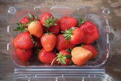 Fresh of strawberries Royalty Free Stock Images