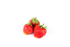 Fresh strawberries close-up. Fresh red strawberries close-up Royalty Free Stock Image