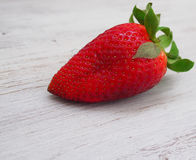 Fresh strawberries  and love inscription. Spain Royalty Free Stock Photography