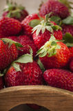 Fresh strawberries with mint Royalty Free Stock Photo