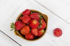 Fresh strawberries Stock Images