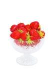 Fresh strawberries. Ripe and fresh strawberries red Stock Photos