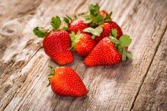 Fresh strawberries. Stock Photo
