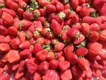 Fresh strawberries for sale Stock Photo