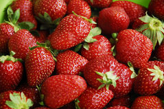 Fresh strawberries - strawberry Stock Photos