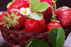 Fresh Strawberry Background. Fresh Red Strawberry Summer Healthy Dessert Background stock image