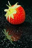Fresh strawberry, close-up Royalty Free Stock Photography