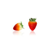 Fresh Strawberry. Close-up Stock Photo
