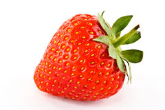 Fresh strawberry. A closeup of a fresh strawberry Stock Photography