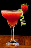 Fresh strawberry cocktail Royalty Free Stock Photography