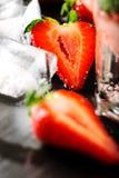 Fresh strawberry drink Royalty Free Stock Photos