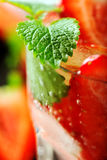 Fresh strawberry drink Royalty Free Stock Photography