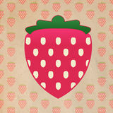 Fresh Strawberry Fruit Graphic Royalty Free Stock Images