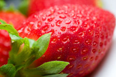 Fresh strawberry for fun and pleasure Royalty Free Stock Photography
