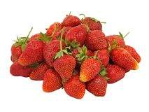 Fresh strawberry.Isolated. Royalty Free Stock Images