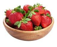 Fresh strawberry isolated Stock Image