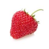 Fresh strawberry isolated on white. Royalty Free Stock Photography