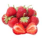 Fresh strawberry isolated on white. Fresh strawberry isolated on white background Royalty Free Stock Photo