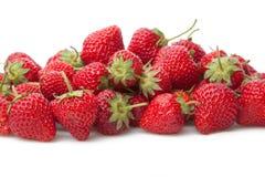 Fresh strawberry isolated on white. Stock Images