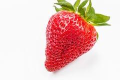 Fresh strawberry. Isolated on white background Royalty Free Stock Photo