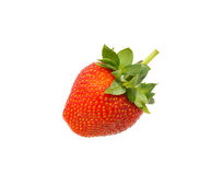 Fresh strawberry  isolated on white background Royalty Free Stock Images