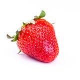 Fresh strawberry isolated on white background. Stock Images