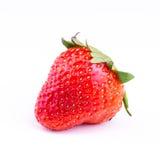 Fresh strawberry isolated on white background. Royalty Free Stock Photo