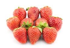 Fresh strawberry isolated on white background Royalty Free Stock Photo