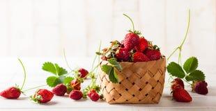 Fresh strawberry royalty free stock photos