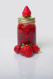 Fresh Strawberry Preserves Royalty Free Stock Photography