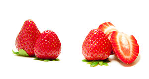 Fresh Strawberry Sampler Stock Photography