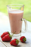 Fresh Strawberry smoothie Royalty Free Stock Photo