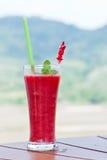 Fresh strawberry smoothies Stock Photography