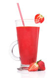 Fresh strawberry smoothies Royalty Free Stock Images
